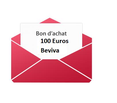 Bon d'achat 100 euros.