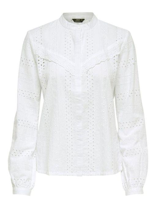 Chemise blanche dentelle Miriam
