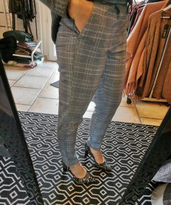 pantalon only carreaux