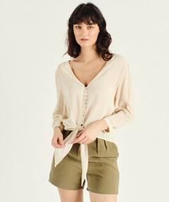 blouse crème Artlove