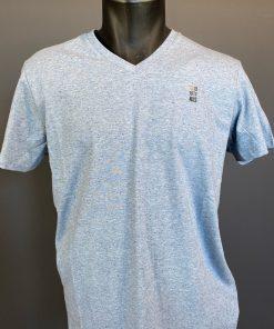 tshirt col v bleu No Excess