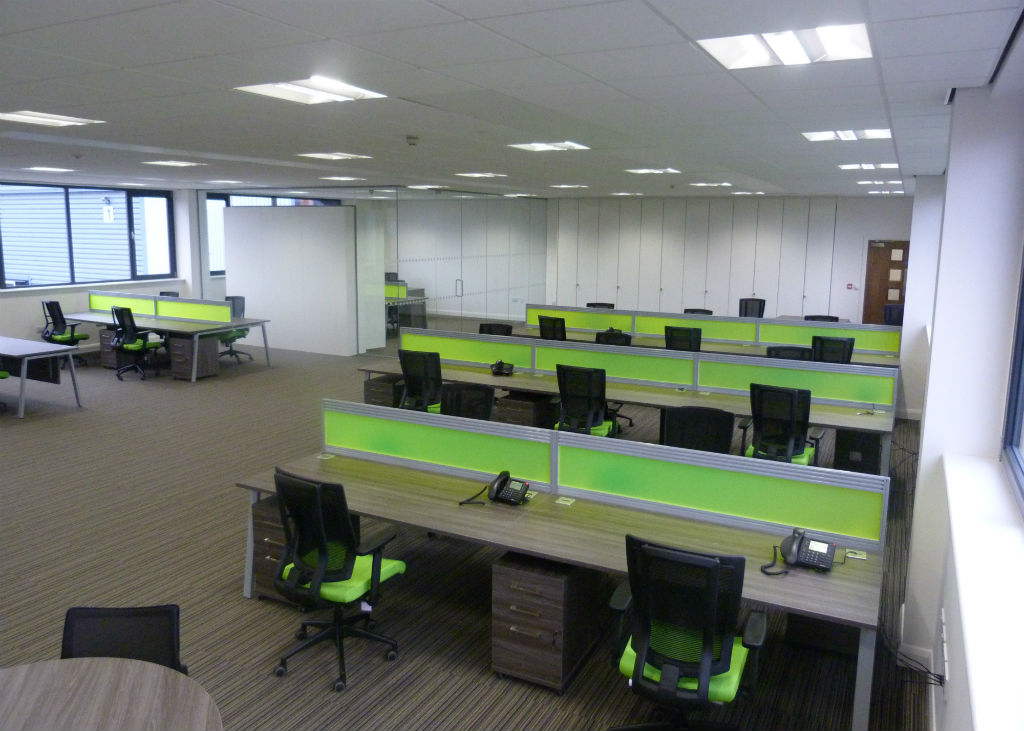Bench Desk Installations Bevlan Office Interiors