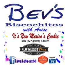New Mexico Biscochitos (Dozen, 2.4 oz, or Baggie)