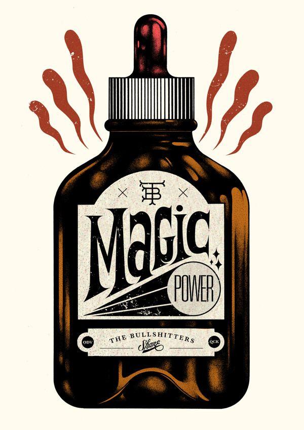 Shane et son magic power