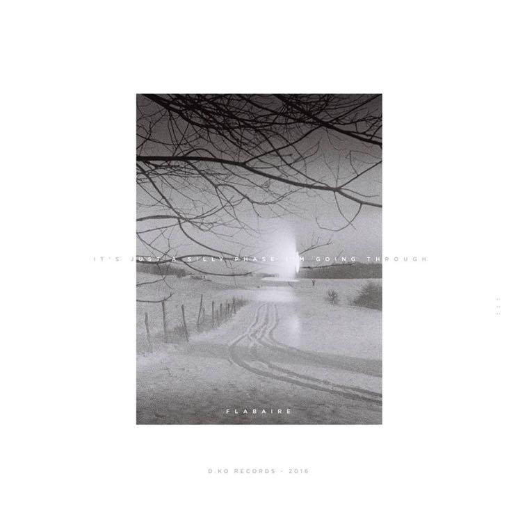 Pochette de It's Just A Silly Phase I'm Going Through, premier LP de Flabaire (artwork by Ambroise Bellec)