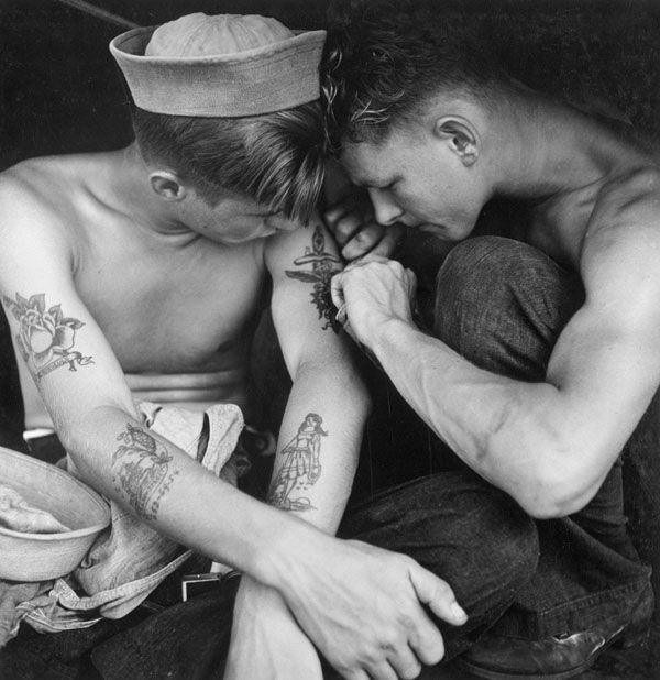 marin tatouage