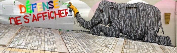 street art par artist brusk