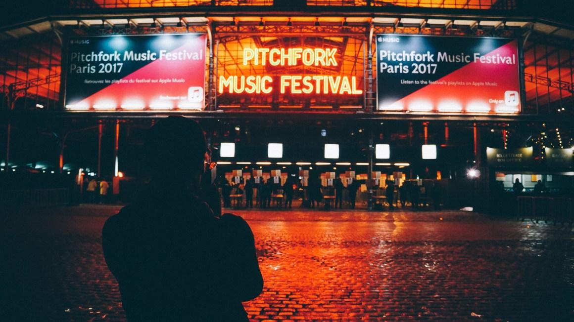 photo du pitchfork festival