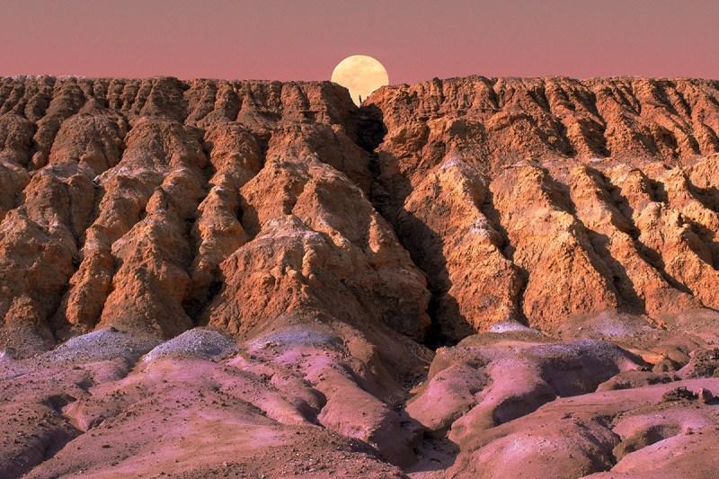 "Série ""Desert of the Future"" de Al Mefer"