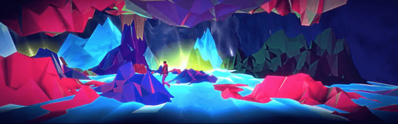 Images extraites du clip Neon Eyes, réalisé par Look Mister, morceau d'Equateur
