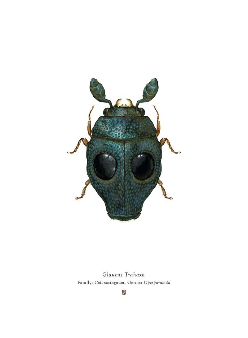 Les insectes hyper-réels de Richard Wilkinson, inspiré de la pop-culture