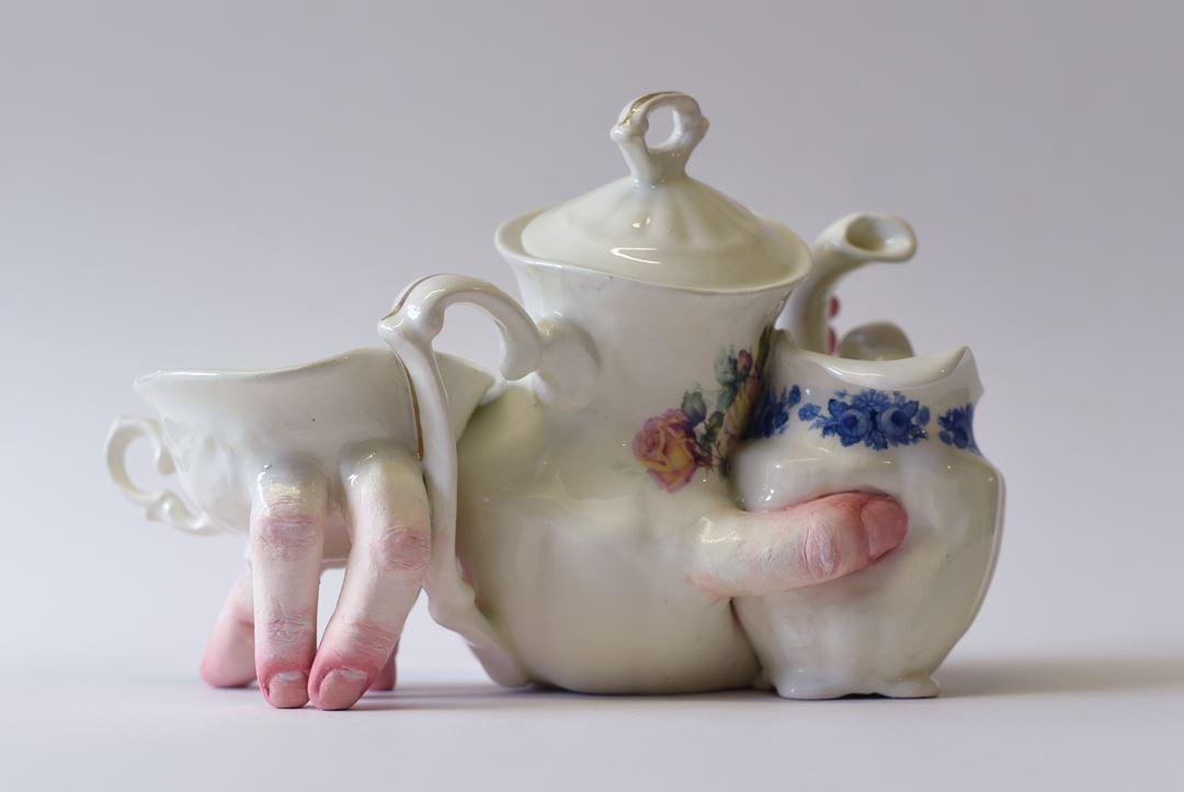 Service à thé de Ronit Barnaga