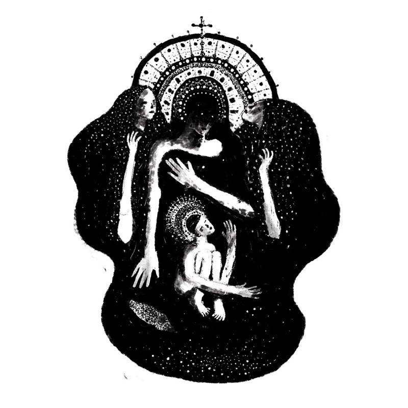 Pieta de Julien Brogard, avec Jésus
