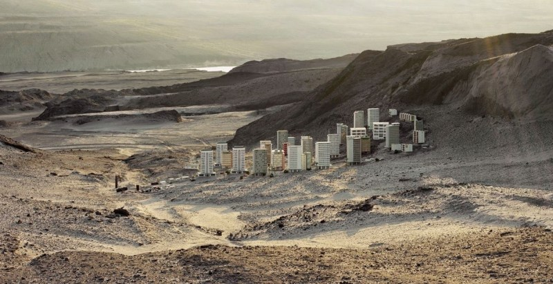 Thomas Wrede ville désert