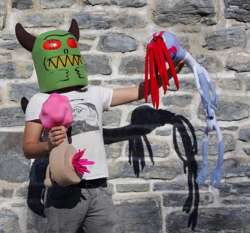 masque inspirés de rick et morty