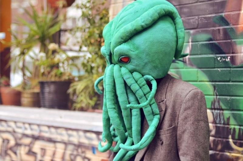 Ian Langohr masque de Cthulhu profil