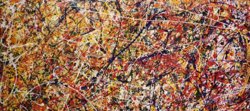 Drip Painting, Jackson Pollock,