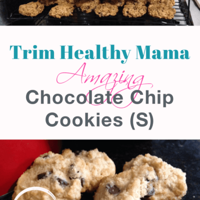 Amazing Chocolate Chip Cookies (S) (Gluten-free, Grain-free, and Sugar-Free)