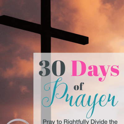 30 Days of Prayer: Pray to Rightfully Divide the Word of Truth (Day 5)