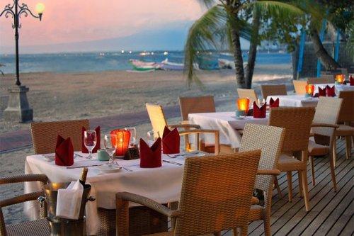 バリ島レストラン,ビーチサイドレストラン,最終日プラン