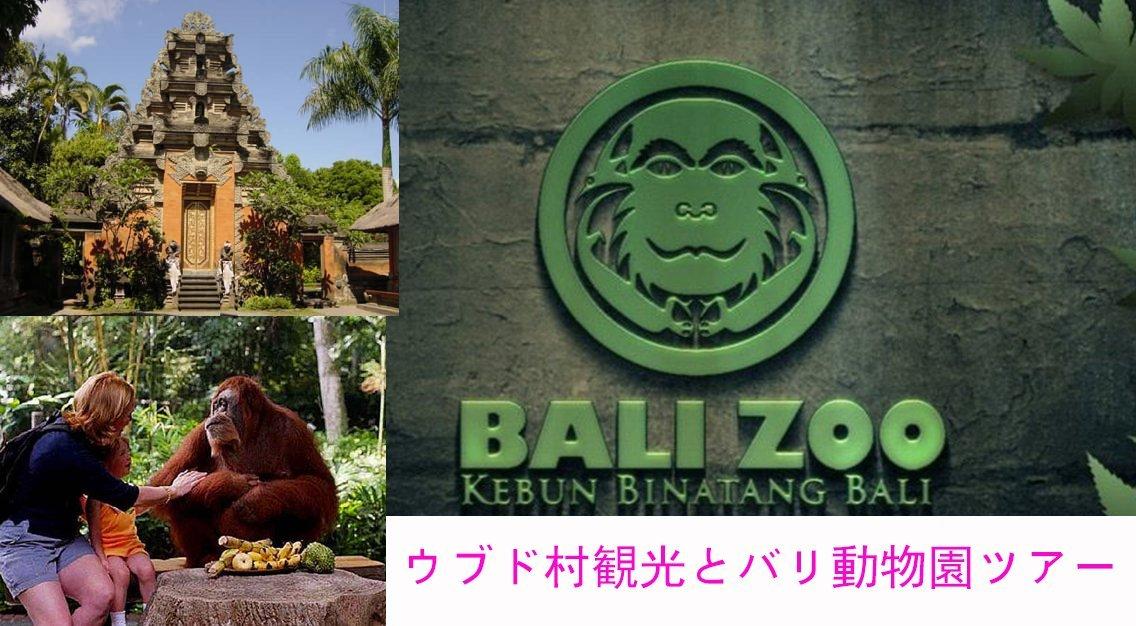 ウブド観光とバリ動物園、バリズーパーク