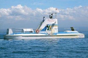 半潜水船、 バリハイハイクルーズ、 レンボンガン島