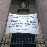 Concerten in de Mozes en Aäronkerk