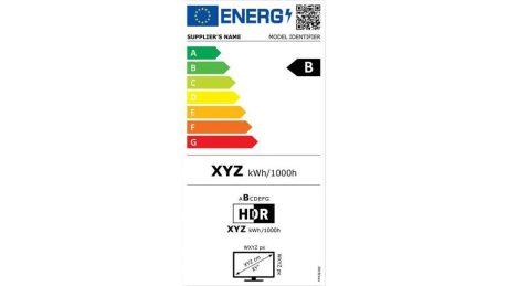 EU Energielabel Fernseher