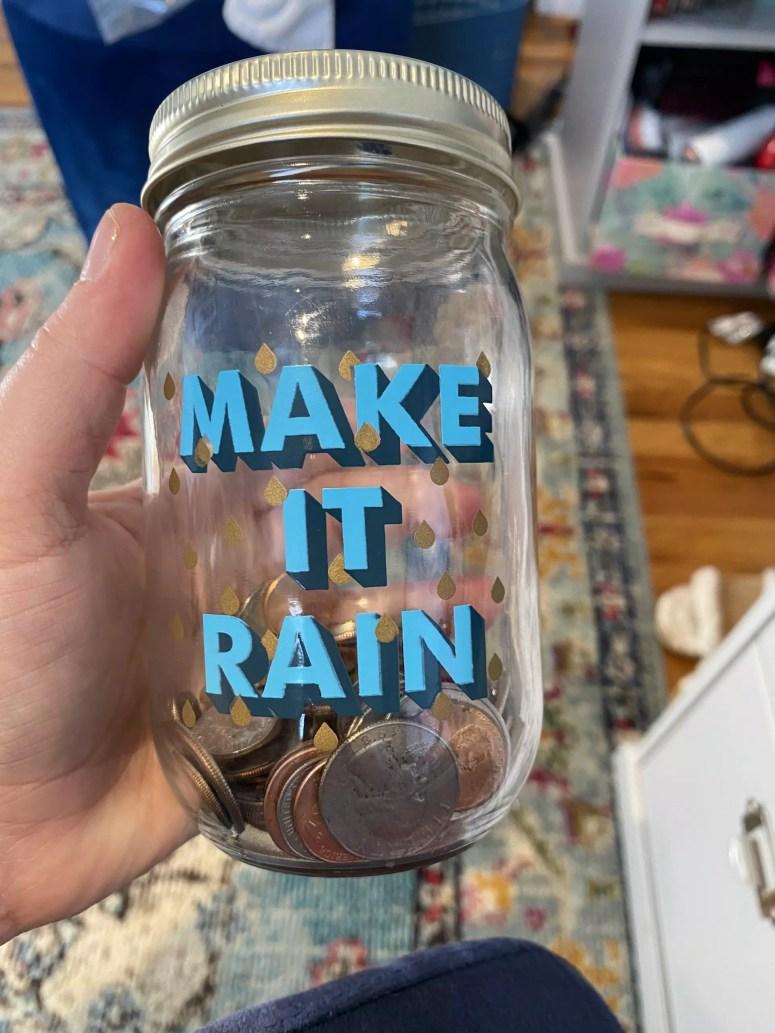 save money jar
