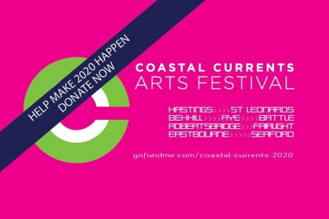 Supporting Coastal Currents, the amazing arts festival that links Bexhill Museum with creative communities from Hastings & Rye to Eastbourne.