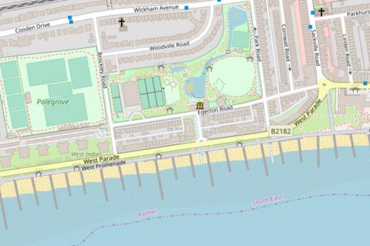 Mapping Bexhill - the Open Source Digital way