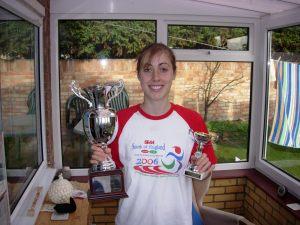 Bex Quinlan teenage athlete eating disorder running
