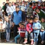 حفل للأطفال بدعم من الأيادي البيضا