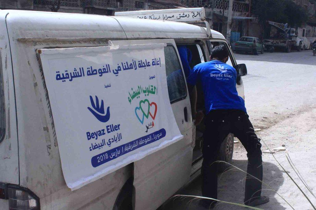 الغوطة الشرقية وسط المعاناة