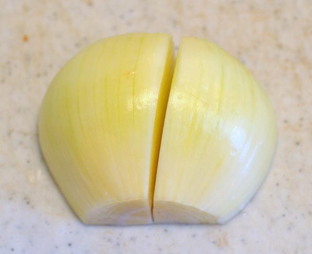 Onion Half