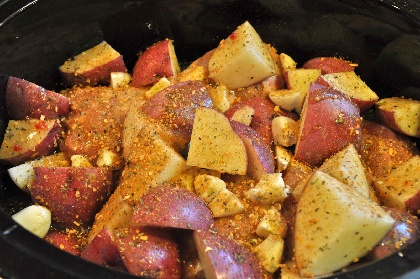 Crock Pot Chicken and Potatoes