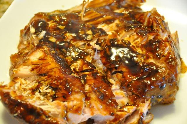 Hunk of Meat Monday: Garlic Balsamic Glazed Pork Loin