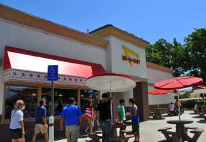 In n Out Burger restaurant