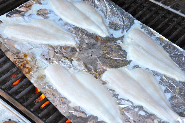 grilling fish fillets