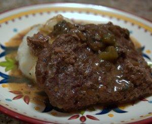 Crock Pot Cubed Beef Steak