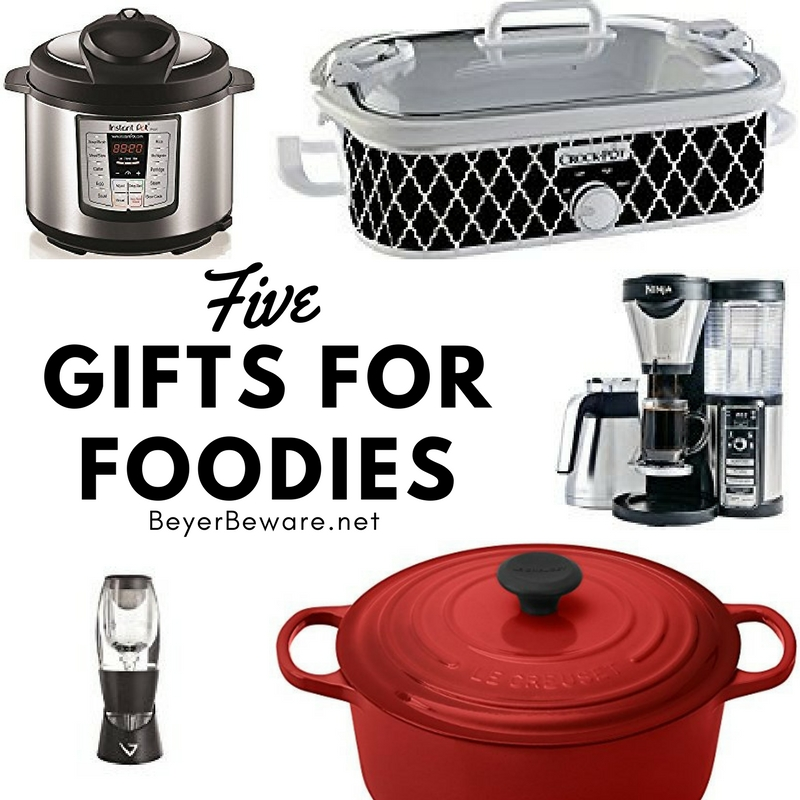 Have a lover of all things food and wine? Here are 5 gifts for the foodie, wine, and coffee lover on your Christmas list.