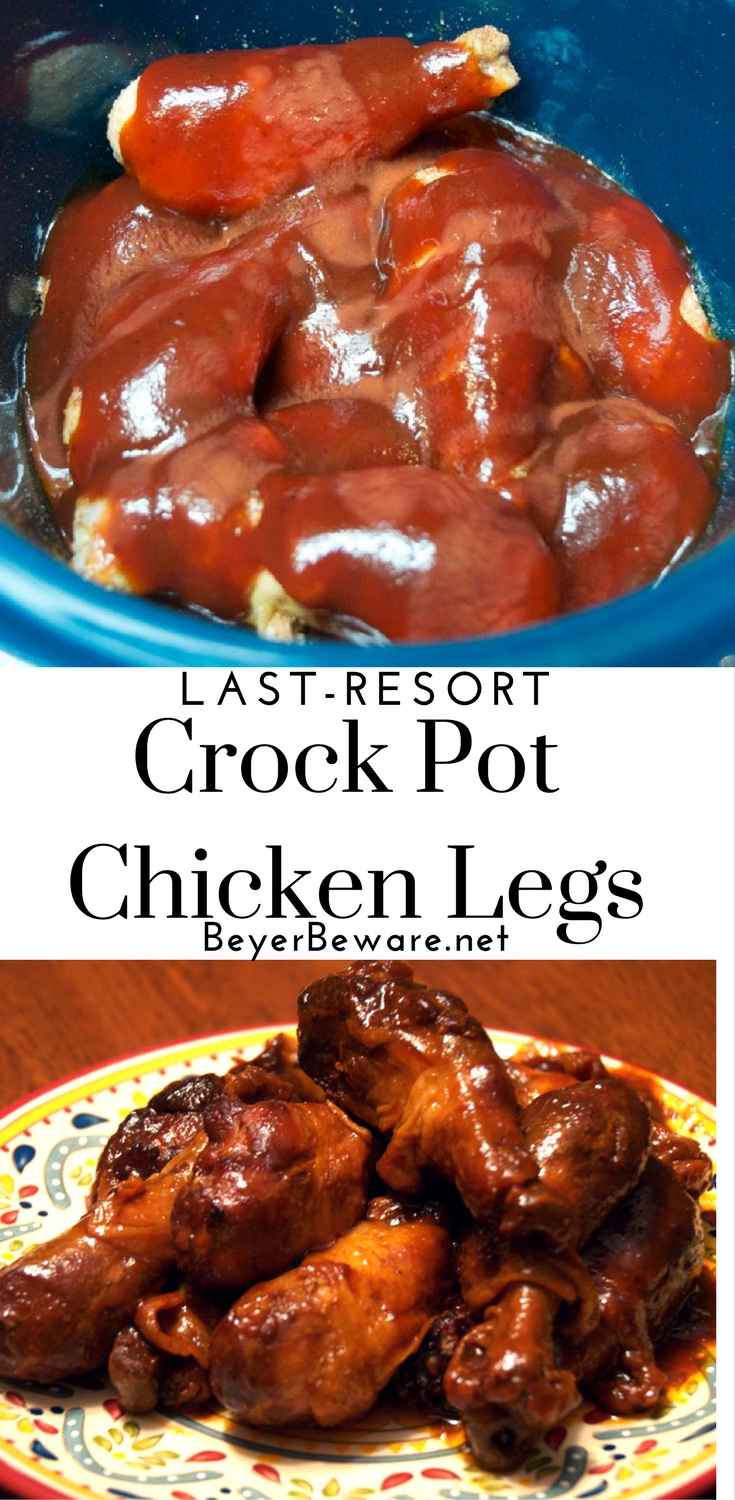 A great chicken legs recipe that packs a hint of heat and cooks in the crock pot is essential. Last-resort crock pot chicken legs are just that recipe.
