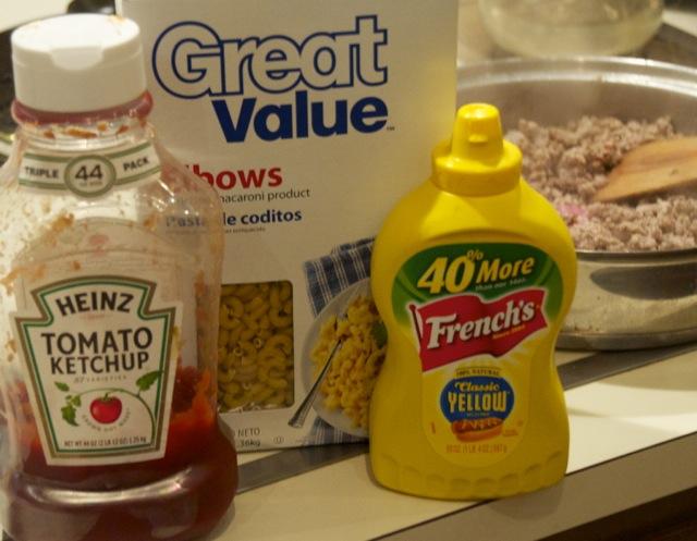cheeseburger macaroni ingredients