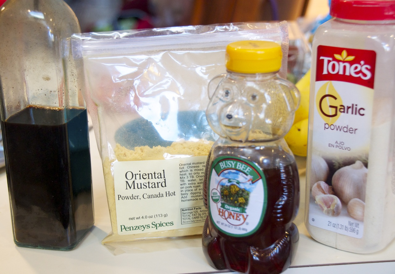 Honey Mustards Ingredients