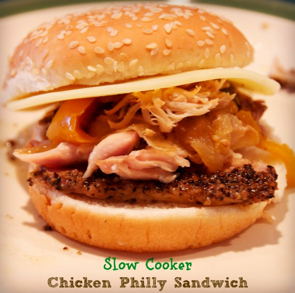 Slow Cooker Philly Sandwich