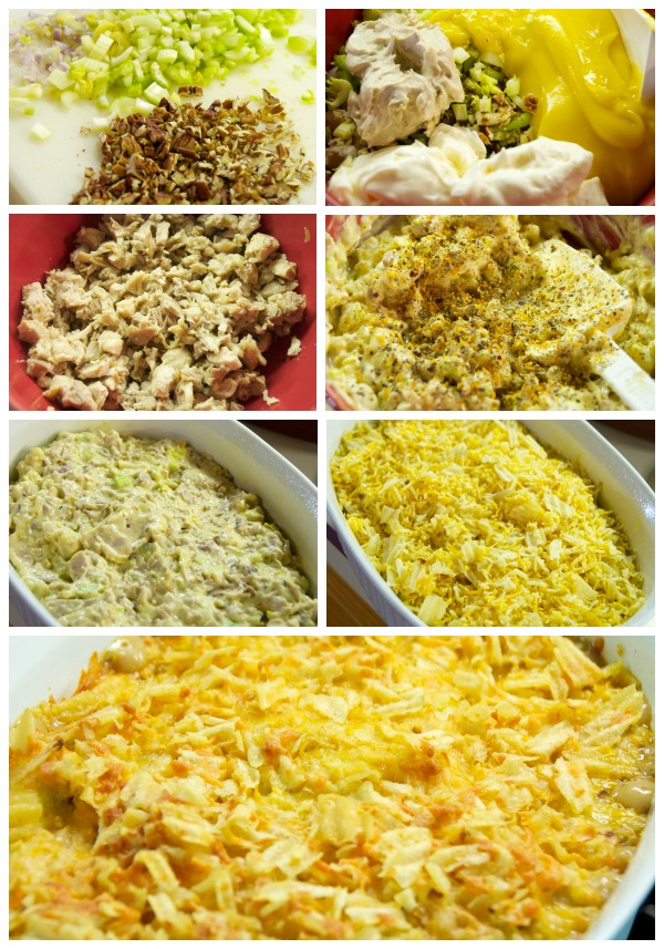 Crispy Pecan Chicken Casserole Recipe Steps