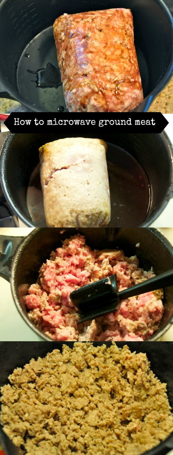 how to microwave meat