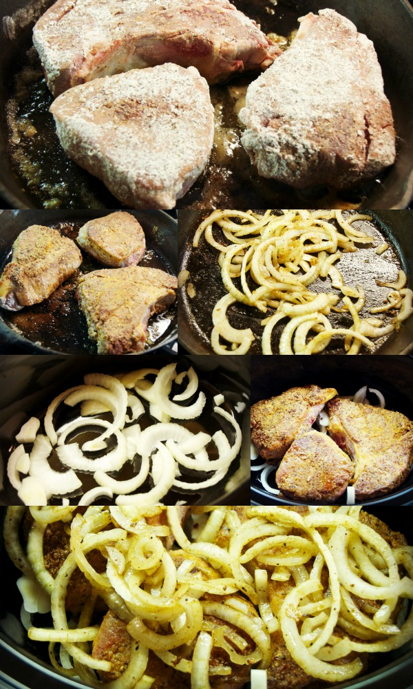 swiss steaks and onions