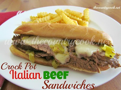 Italian Beef Sandwiches (with graphics, thecountrycook.net)