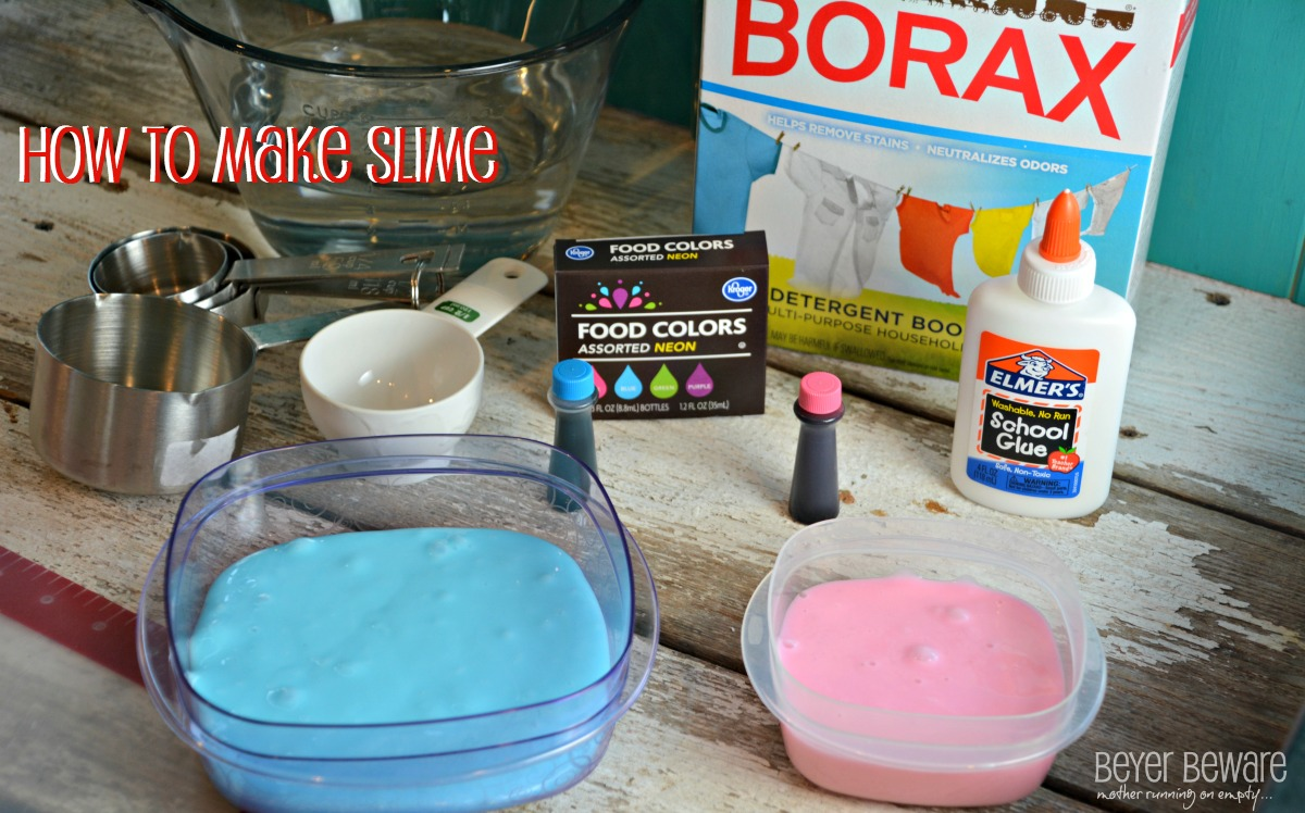 Maddie Shows You The Step By Step And What The Slime Should Look Like At  Each Phase In The Video How To Make Slime